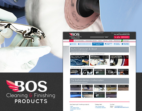 Bos Cleaning Finishing Products webshop e-commerce